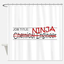 Job Ninja Chem Eng Shower Curtain