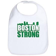 Boston Strong Green Bib