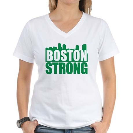 Boston Strong Green T-Shirt