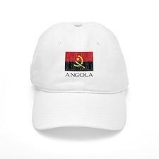 Flag of Angola DARK.png Baseball Cap