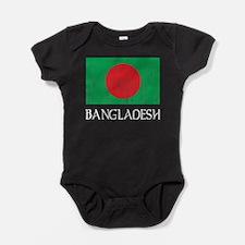 Bangladesh Flag Baby Bodysuit