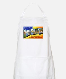 Eau Claire Wisconsin Greetings BBQ Apron