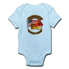 Fire - Firefighter - PA Infant Bodysuit