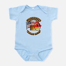 Fire - Firefighter - PA Infant Bodysuit