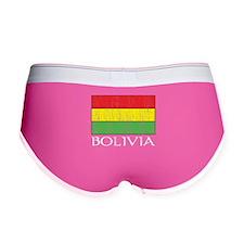 Bolivia Flag Women's Boy Brief