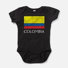 Colombia Flag Baby Bodysuit
