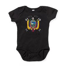 Coat of Arms of Ecuador Baby Bodysuit