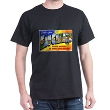 Eau Claire Wisconsin Greetings (Front) T-Shirt