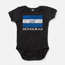 Honduras Flag Baby Bodysuit