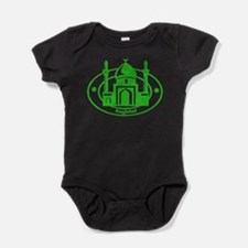 Baghdad Passport Stamp Baby Bodysuit