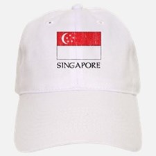 Singapore Flag Baseball Baseball Cap