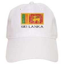Sri Lanka Flag Baseball Cap