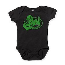 Anakara Passport Stamp Baby Bodysuit