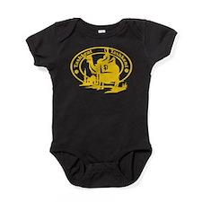 Tashkent Passport Stamp Baby Bodysuit