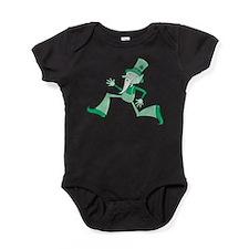 Funky Leprechaun Baby Bodysuit
