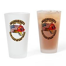 Fire - Firefighter - New York Drinking Glass