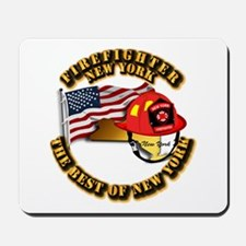 Fire - Firefighter - New York Mousepad