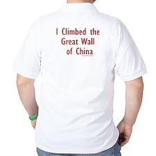 Climbed Great Wall Photo - T-Shirt