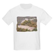 Climbed Great Wall Photo - Kids T-Shirt