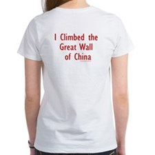 Climbed Great Wall Photo - Tee
