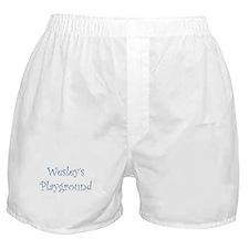 wesleys.png Boxer Shorts