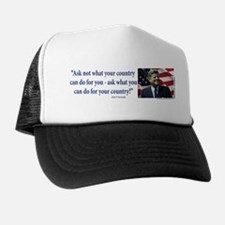 John F Kennedy Trucker Hat