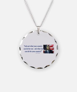 John F Kennedy Necklace