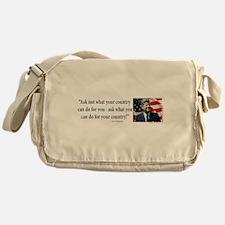 John F Kennedy Messenger Bag