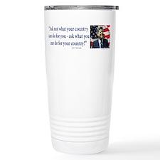 John F Kennedy Travel Mug