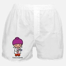 Future Scientist - girl Boxer Shorts