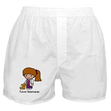 Future Veterinarian Girl Boxer Shorts