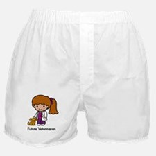 Future Veterinarian Girl Boxer Shorts