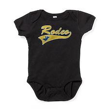 Rodeo Bull Rider Baby Bodysuit