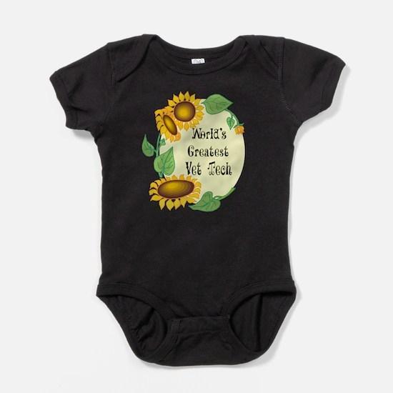 Worlds Greatest Vet Tech Baby Bodysuit