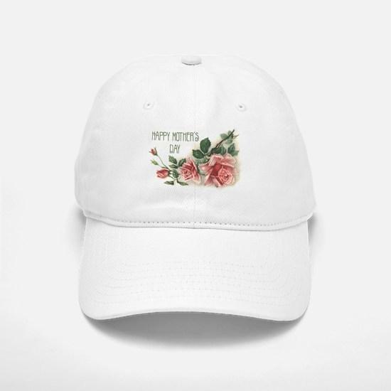 Mothers Day Roses Baseball Baseball Cap