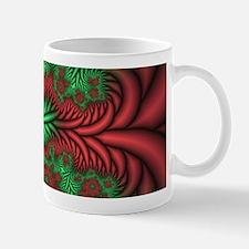 Red/Green Fractal #1 11oz. Mug