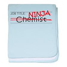Job Ninja Chemist baby blanket