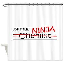 Job Ninja Chemist Shower Curtain