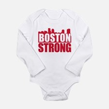 Boston Strong Red Body Suit