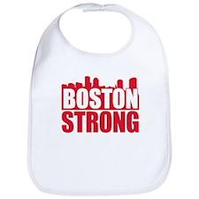 Boston Strong Red Bib