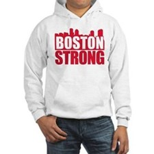 Boston Strong Red Hoodie