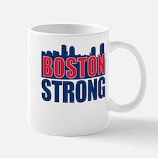 Boston Strong Red Blue Mug