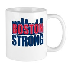 Boston Strong Red Blue Mug