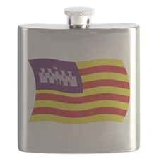 Balearic Islands Flag Flask