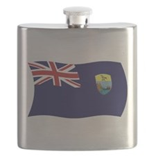 Saint Helena Flag Flask