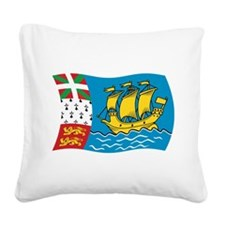 Cute Livingflags Square Canvas Pillow