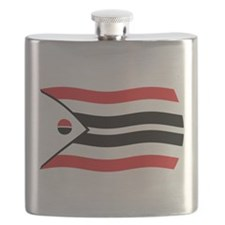 Arapaho Tribe Flag 2 Flask