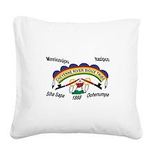 Cute Sioux Square Canvas Pillow
