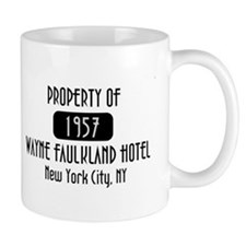 Property of the Wayne Faulkland Hotel Mug