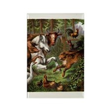 Print from Oft Told Tales Rectangle Magnet
